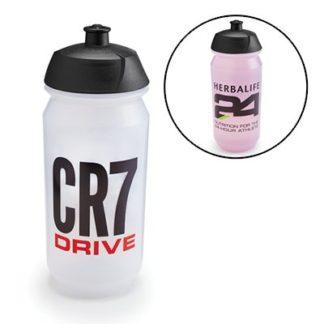 CR7 Drive športová flaša- priesvitná