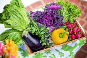 Zelenina v miske